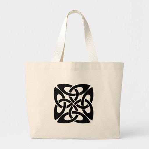 Celtic knot canvas bags