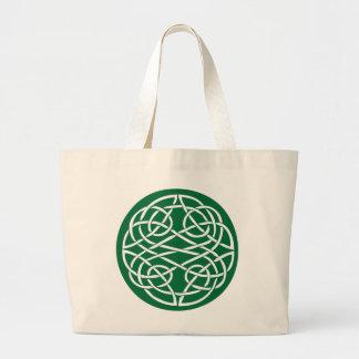 Celtic Knot Canvas Bag