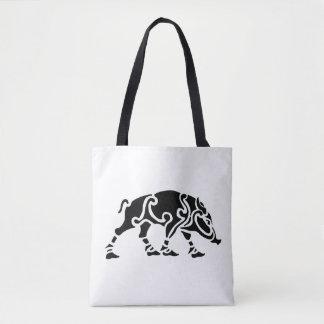 Celtic Knot Boar Tote Bag