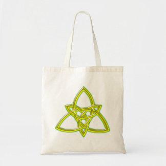 Celtic knot celtic knot canvas bag