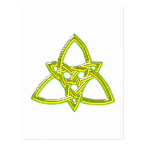Celtic knot celtic knot postcards