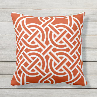 Celtic Knot Choose Any Custom Color Pillow
