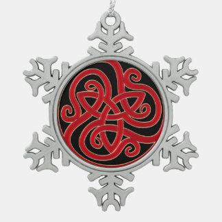 Celtic Knot Christmas Tree Ornament