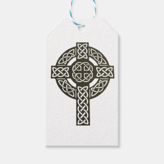 Celtic Knot Cross Gift Tags