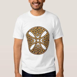 celtic knot cross tee shirts
