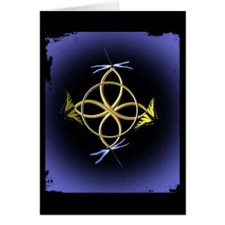 Celtic Knot Design Card