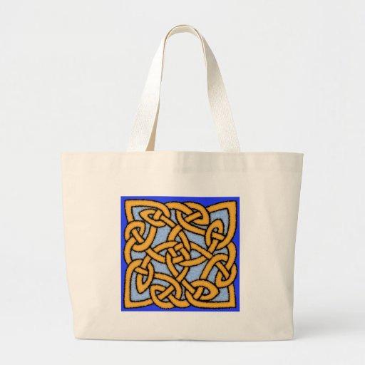 Celtic Knot Design No. 1 Tote Bag