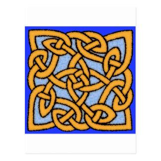 Celtic Knot Design No 1 Postcards