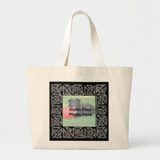 Celtic Knot Design Photo Tote Bag