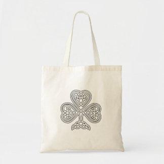 Celtic Knot Design Shamrock