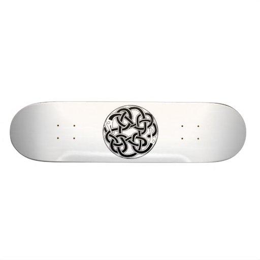 Celtic Knot Design Custom Skateboard