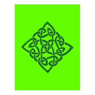 Celtic Knot - Diamond Postcards