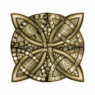 Celtic Knot Gold Metallic Photo Sculptures