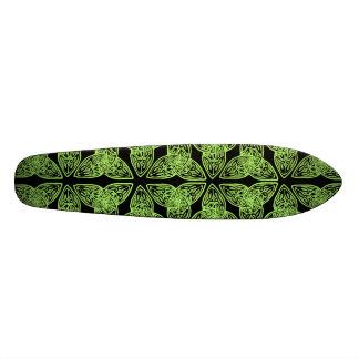 Celtic Knot Green Old School Skate Board Decks