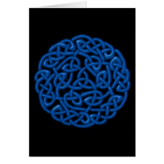 Celtic Knot Greeting Card (blank inside)