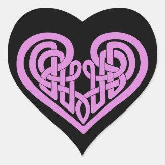 Celtic Knot heart Heart Sticker