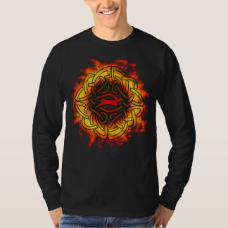 Celtic  Knot in Flames Shirt