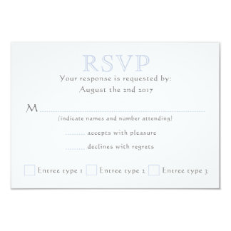 Celtic Knot Initials - RSVP Card