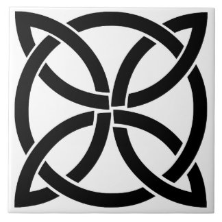 celtic knot ireland ancient symbol pagan irish ceramic tile