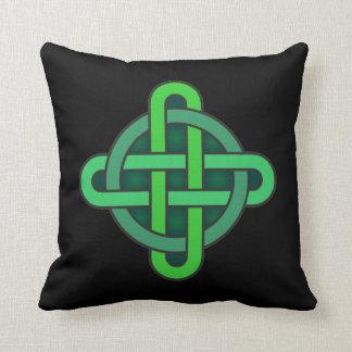 celtic knot ireland ancient symbol pagan irish gre cushion