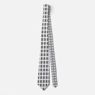Celtic Knot Karma Symbol Necktie