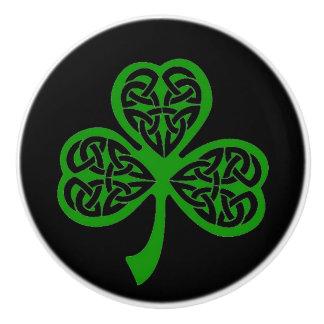Celtic Knot Knob Pull Irish Change Color
