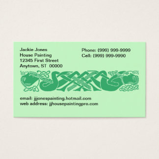 Celtic Knot Knots Gaelic any Business Cards Card