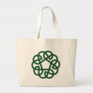 Celtic Knot Large Tote Bag