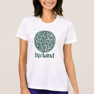 Celtic Knot Medallion Round Design, Irish Artwork Shirt