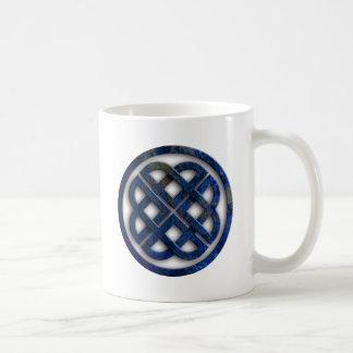 celtic knot basic white mug
