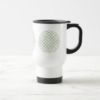 Celtic Knot Stainless Steel Travel Mug
