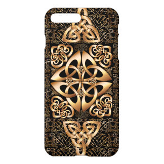Celtic Knot on black iPhone 8 Plus/7 Plus Case