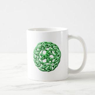 Celtic knot ornamentation celtic knot mug