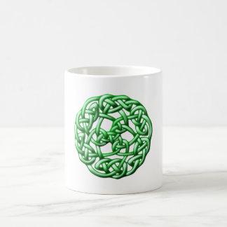 Celtic knot ornamentation celtic knot coffee mug