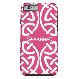 Celtic Knot Pattern Any Colour Personalised iPhone Tough iPhone 6 Case
