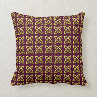 Celtic Knot Pattern Pillow
