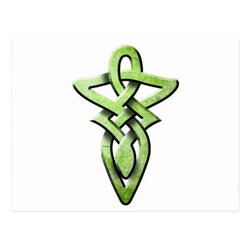 celtic knot postcards