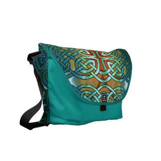 Celtic Knot Rickshaw Messenger Bag