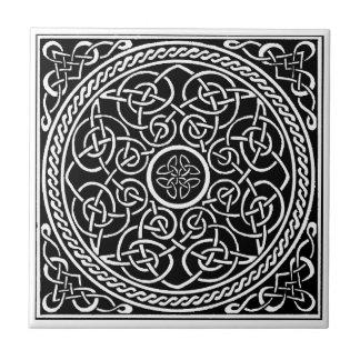 celtic knot small square tile