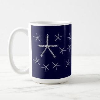 Celtic Knot Snowflakes Mug