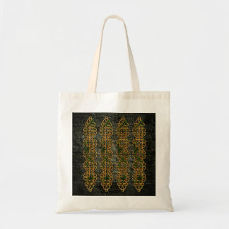 Celtic Knot Strips Tote Bag