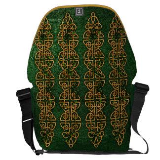 Celtic Knot Strips Commuter Bags