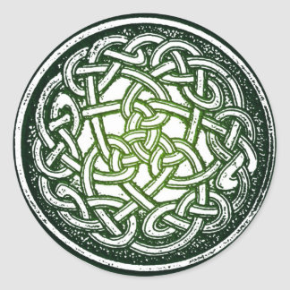 Celtic Knot (traditional) Classic Round Sticker