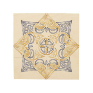 Celtic Knot Wall Hanging Wood Canvases