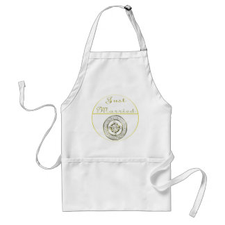 Celtic Knot Wedding Invitation Set Standard Apron