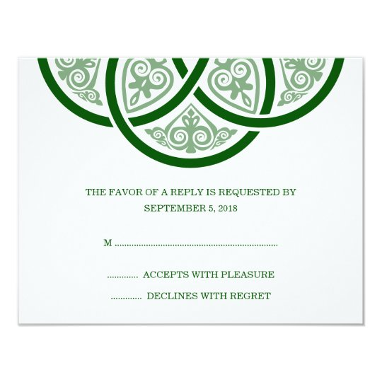 Celtic Knot Wedding RSVP Cards