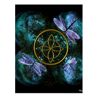 Celtic Knot/Witches Knot Postcard