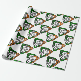 Celtic Knot Wrapping Paper