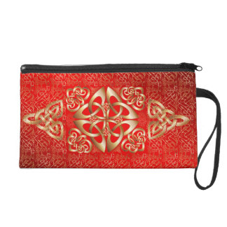Celtic Knot Wristlet Purse