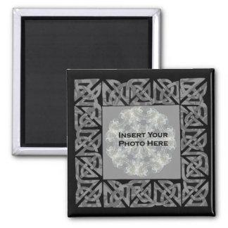 Celtic Knots Design Photo Magnet